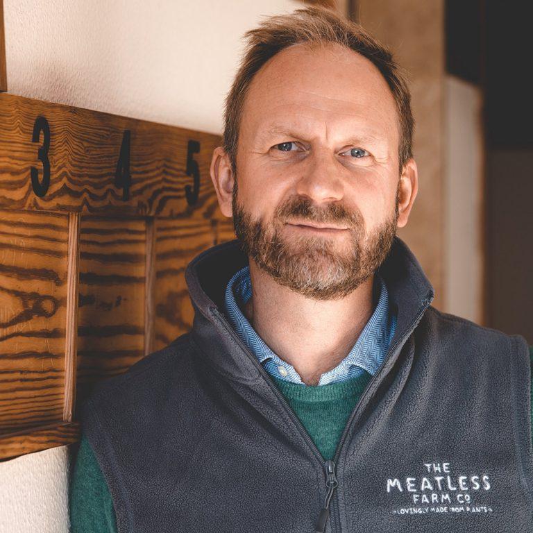 Meatless Farm Founder Morten Toft Bech