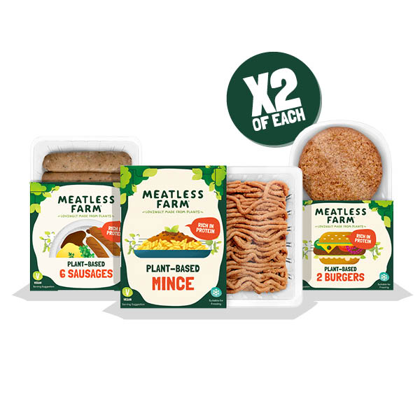 Mega Meatless Bundle - Meatless Farm Shop