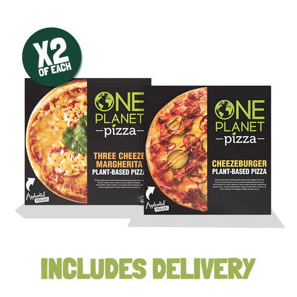 One Planet Pizza Bundle - Meatless Farm Shop