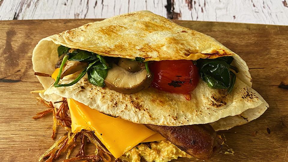 Meatless Farm M*** F*** Breakfast Wrap