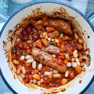 Meatless Sausage Casserole