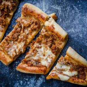 Meatless Turkish Pide